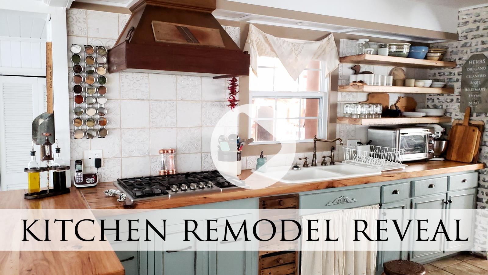 Video Tour of Prodigal Pieces Farmhouse Kitchen Remodel Reveal | prodigalpieces..com #prodigalpieces