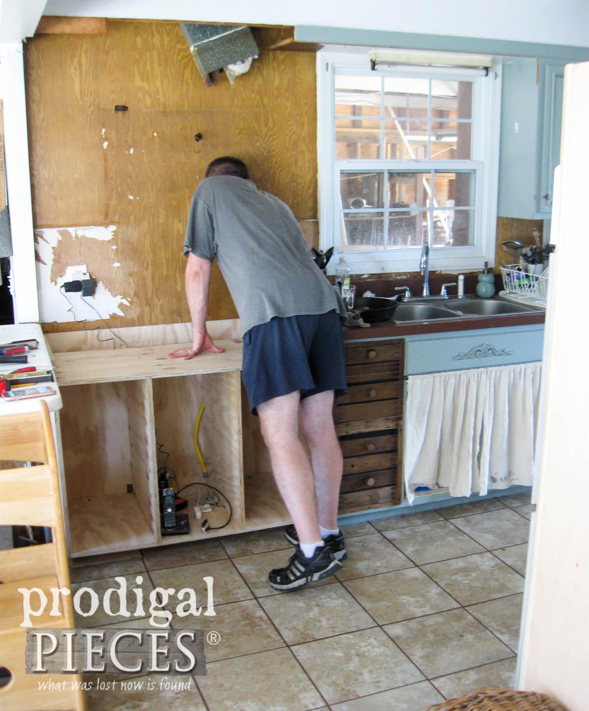 Building New Cabinet | prodigalpieces.com
