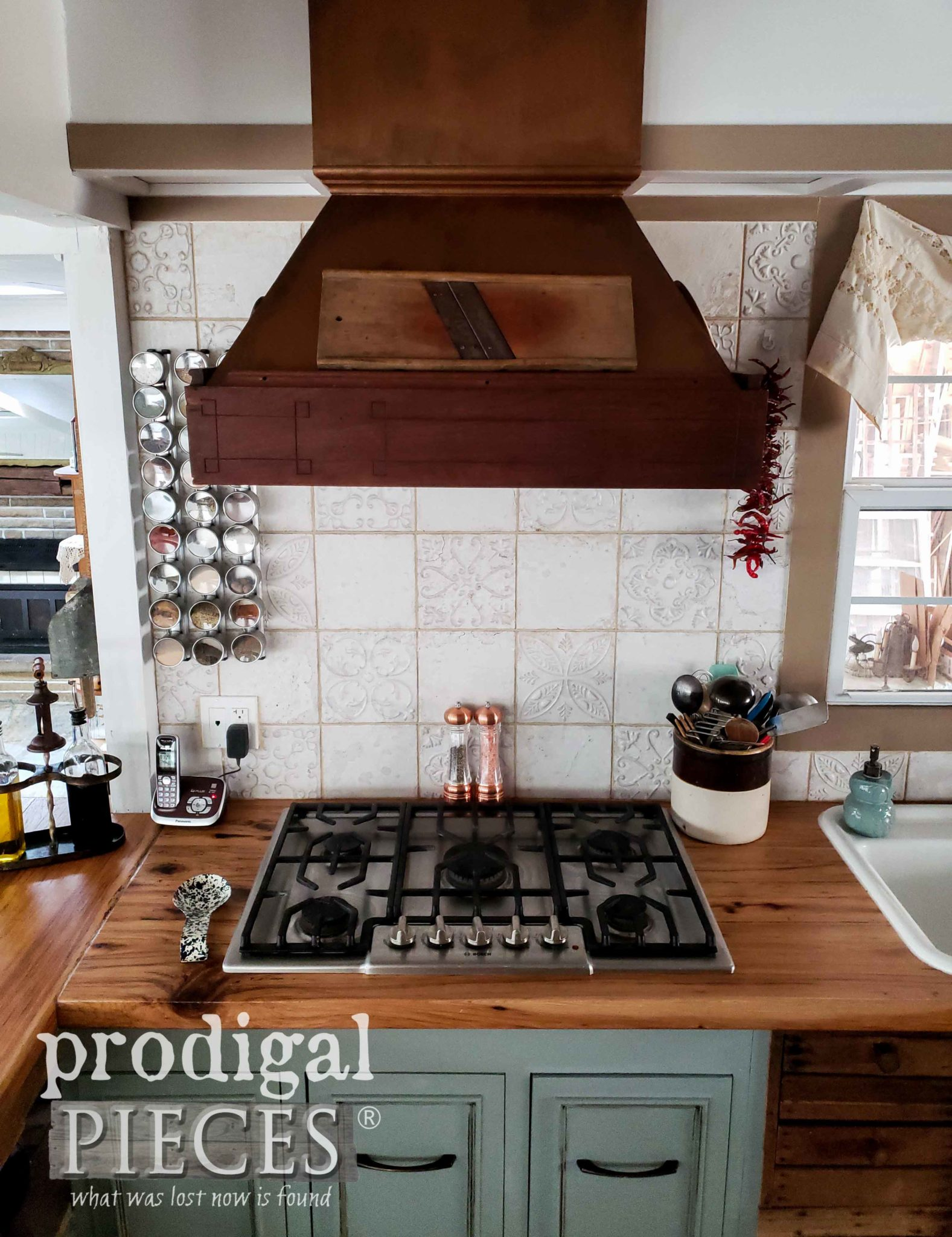 Custom Farmhouse Kitchen Range Hood | Prodigal Pieces | prodigalpieces.com