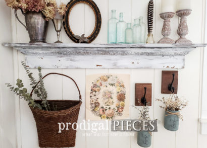 Featured Upcycled Jar Hangers Made by Larissa of Prodigal Pieces | prodigalpieces.com