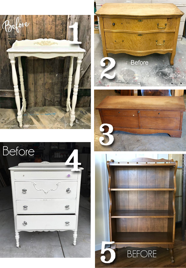 Furniture Fixer Uppers October 2018 | prodigalpieces.com