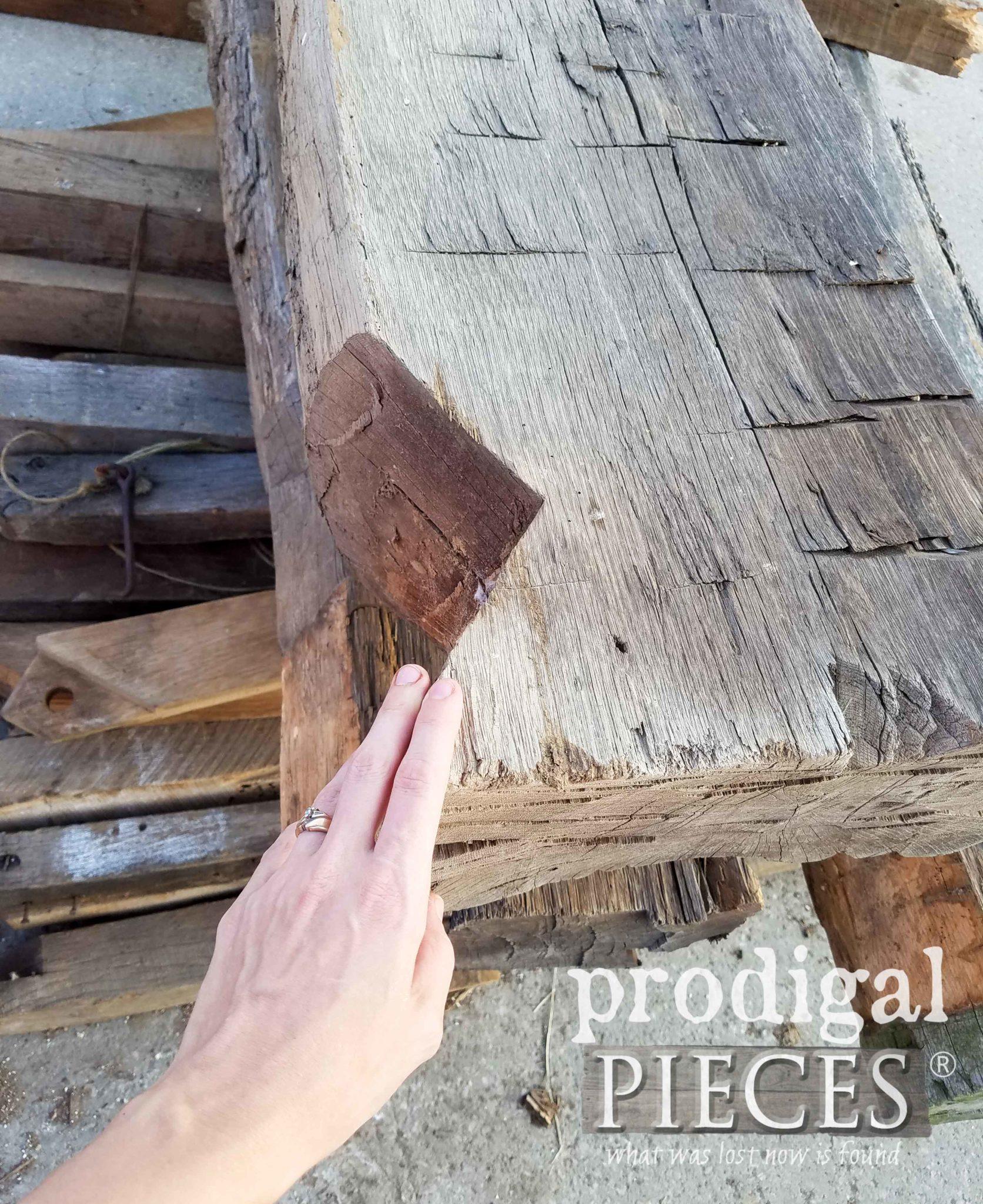 Hand-Hewn Barn Beam | prodigalpieces.com