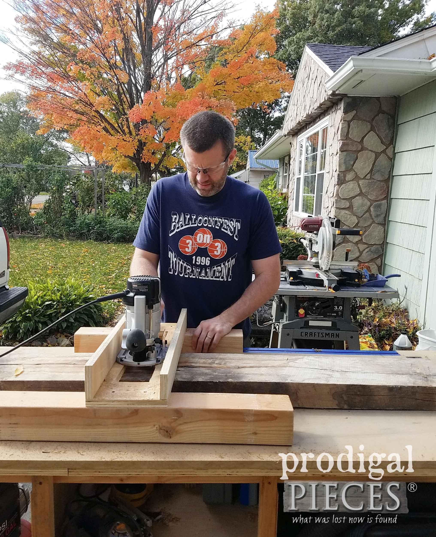 Handmade Planing Sled | prodigalpieces.com
