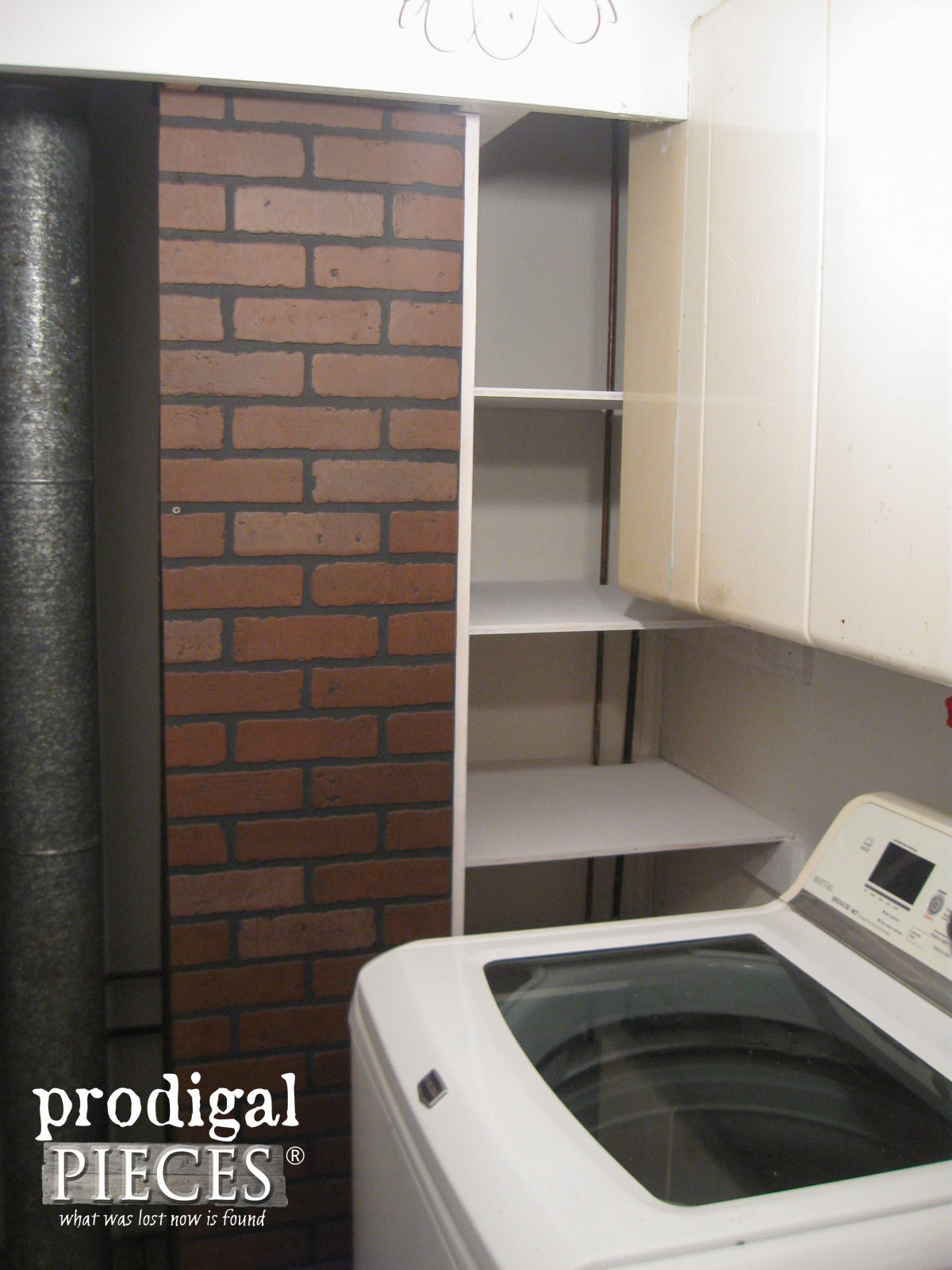 Laundry Room Progress | prodigalpieces.com
