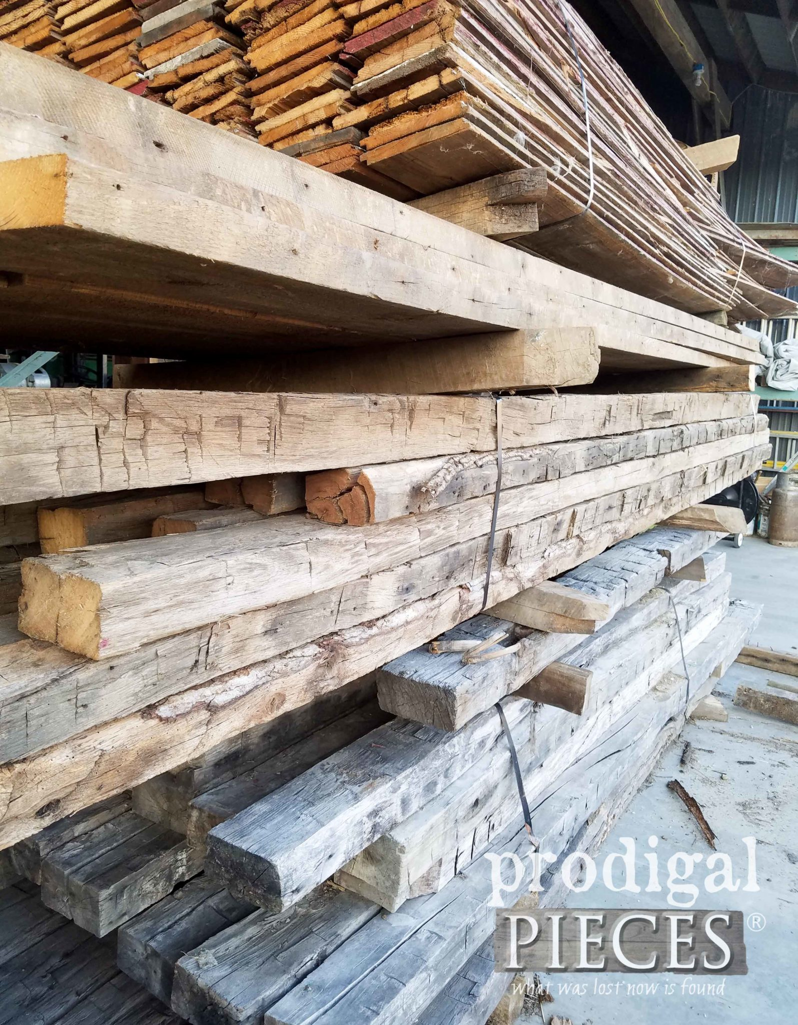 Raw Barn Wood | prodigalpieces.com