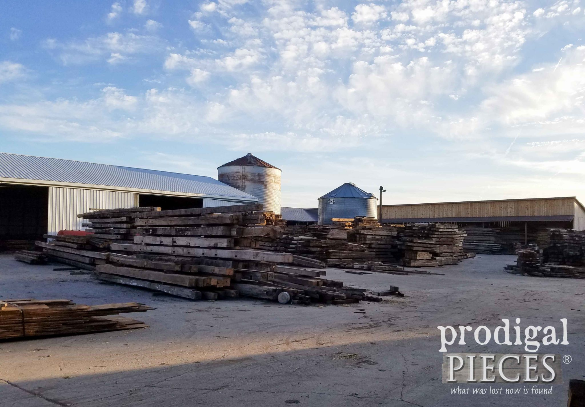 Reclaimed Barn Wood Pile | Prodigal Pieces | prodigalpieces.com