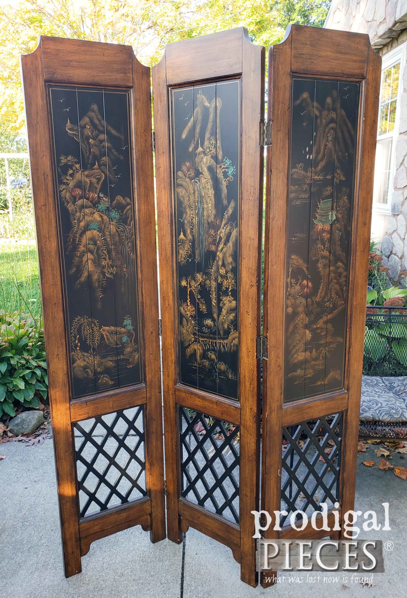 Folding Screen Room Divider Makeover Prodigal Pieces