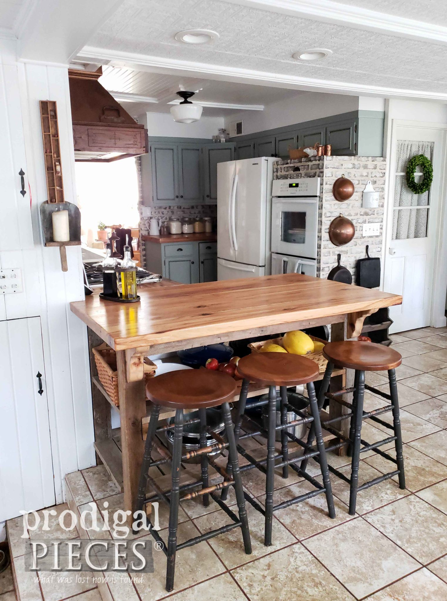 Industrial Farmhouse Kitchen Remodel with DIY Design by Larissa of Prodigal Pieces | prodigalpieces.com
