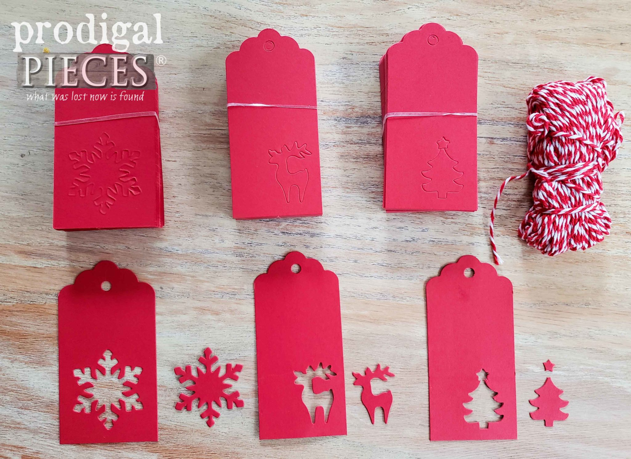 Christmas Gift Tags for Advent Calendar by Prodigal Pieces | prodigalpieces.com