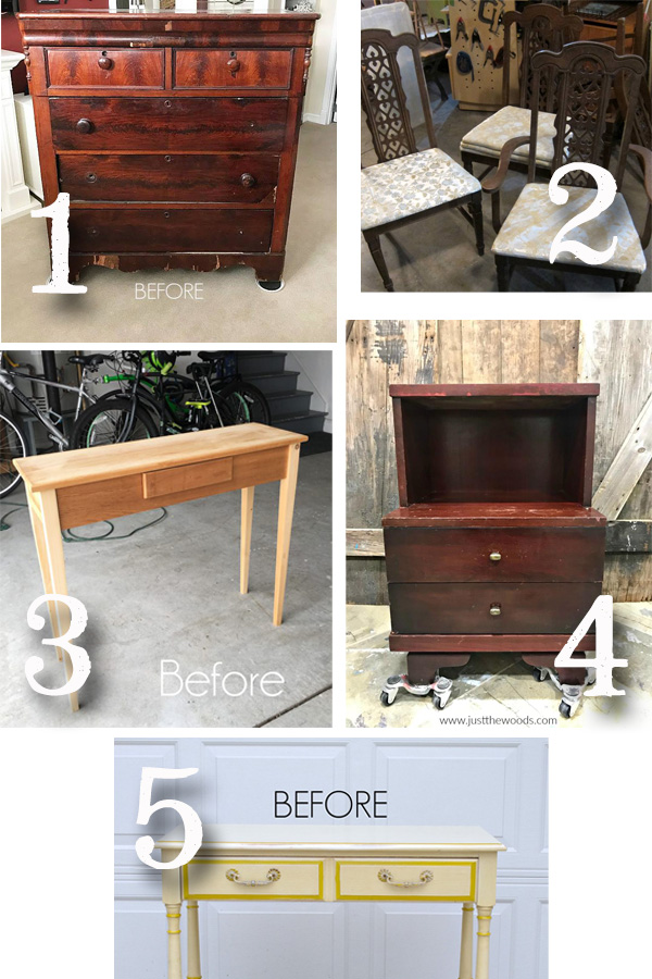 Furniture Fixer Uppers November 2018 | prodigalpieces.com