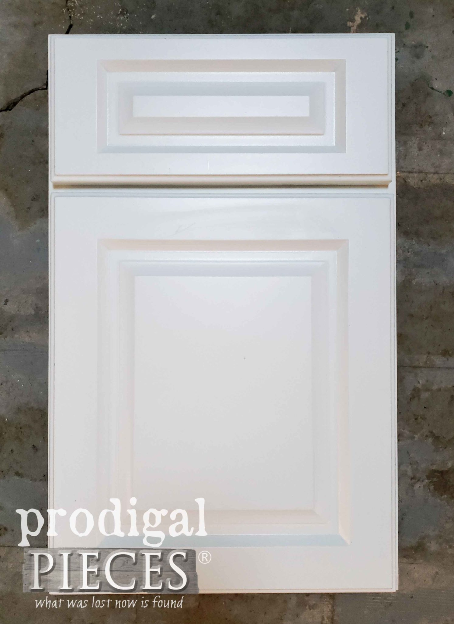 Laminated Cupboard Before Makeover | prodigalpieces.com