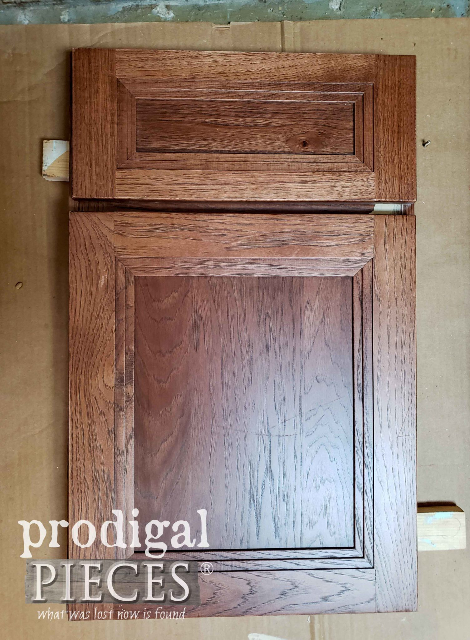 Modern Cupboard Door Sample Before by Prodigal Pieces | prodigalpieces.com