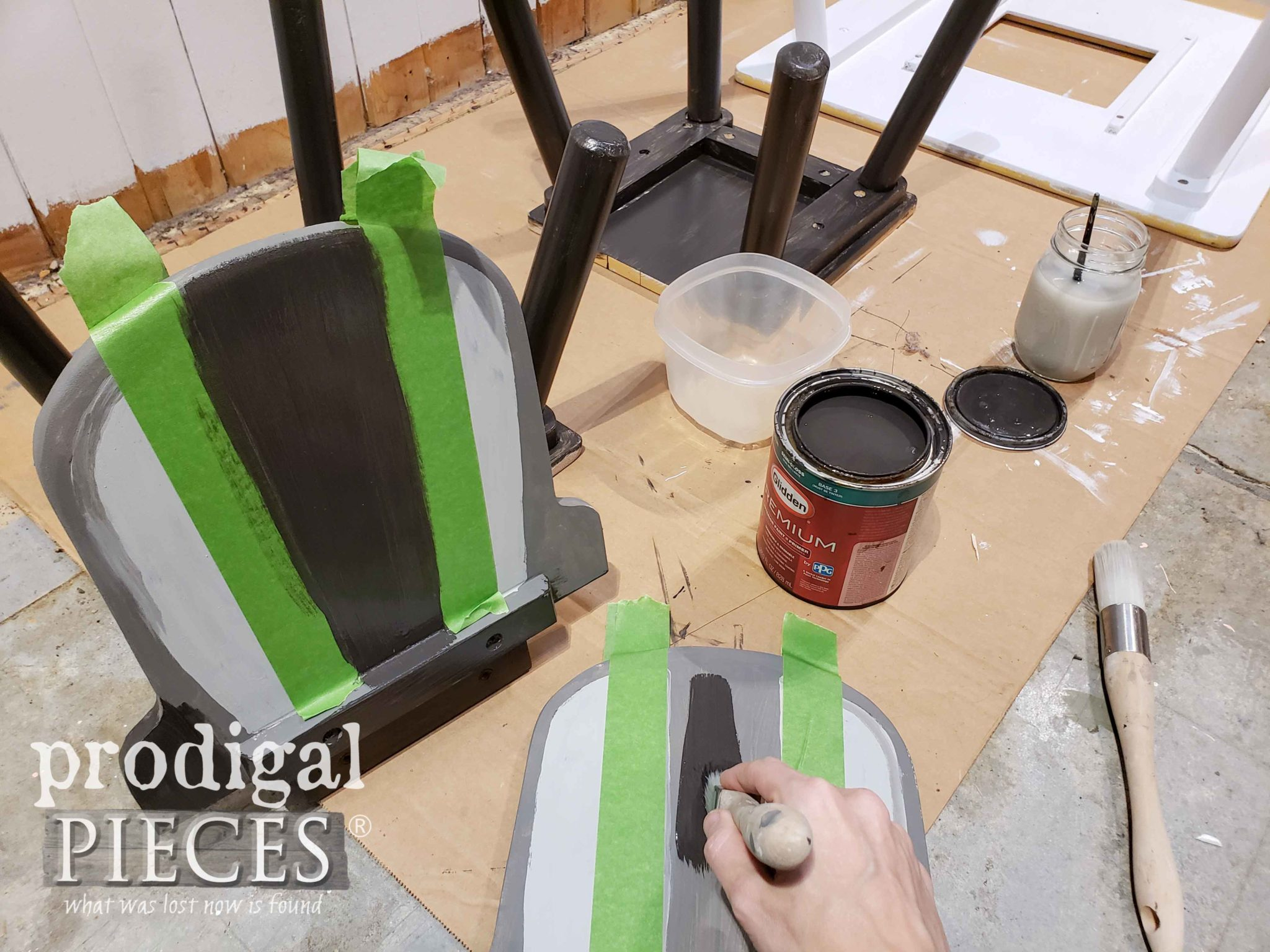 Painting Chair Backs | prodigalpieces.com