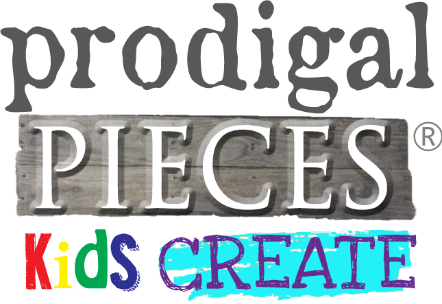 Prodigal Pieces Kids Create - where kids share their DIY to inspire YOU! Details at prodigalpieces.com