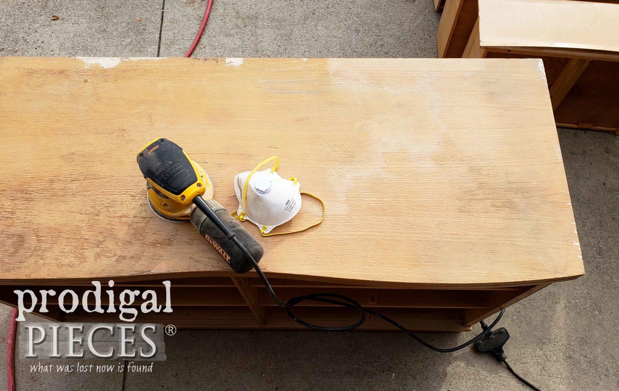Sanding Dresser Top | prodigalpieces.com