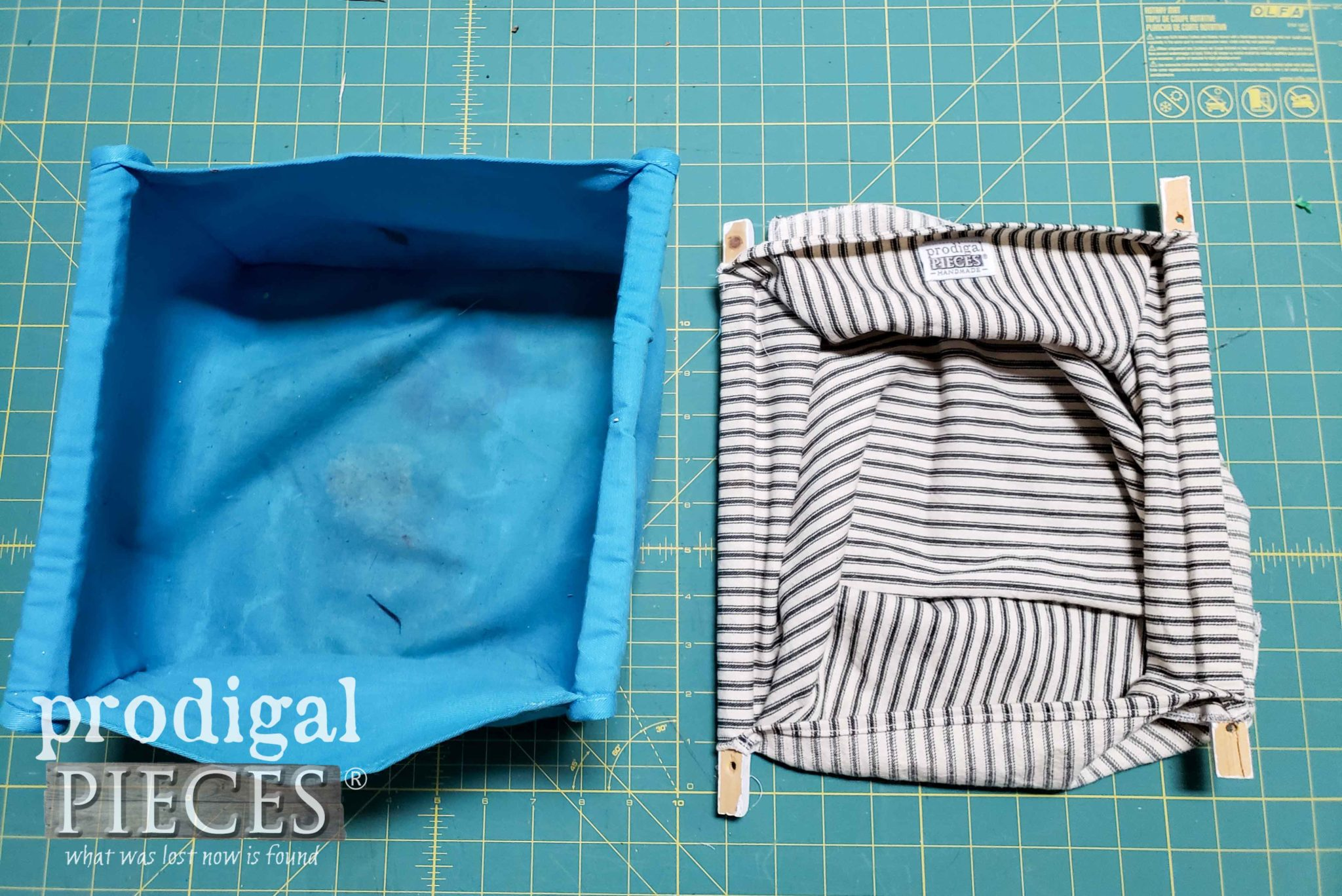 Sewing New Play Table Liner | prodigalpieces.com