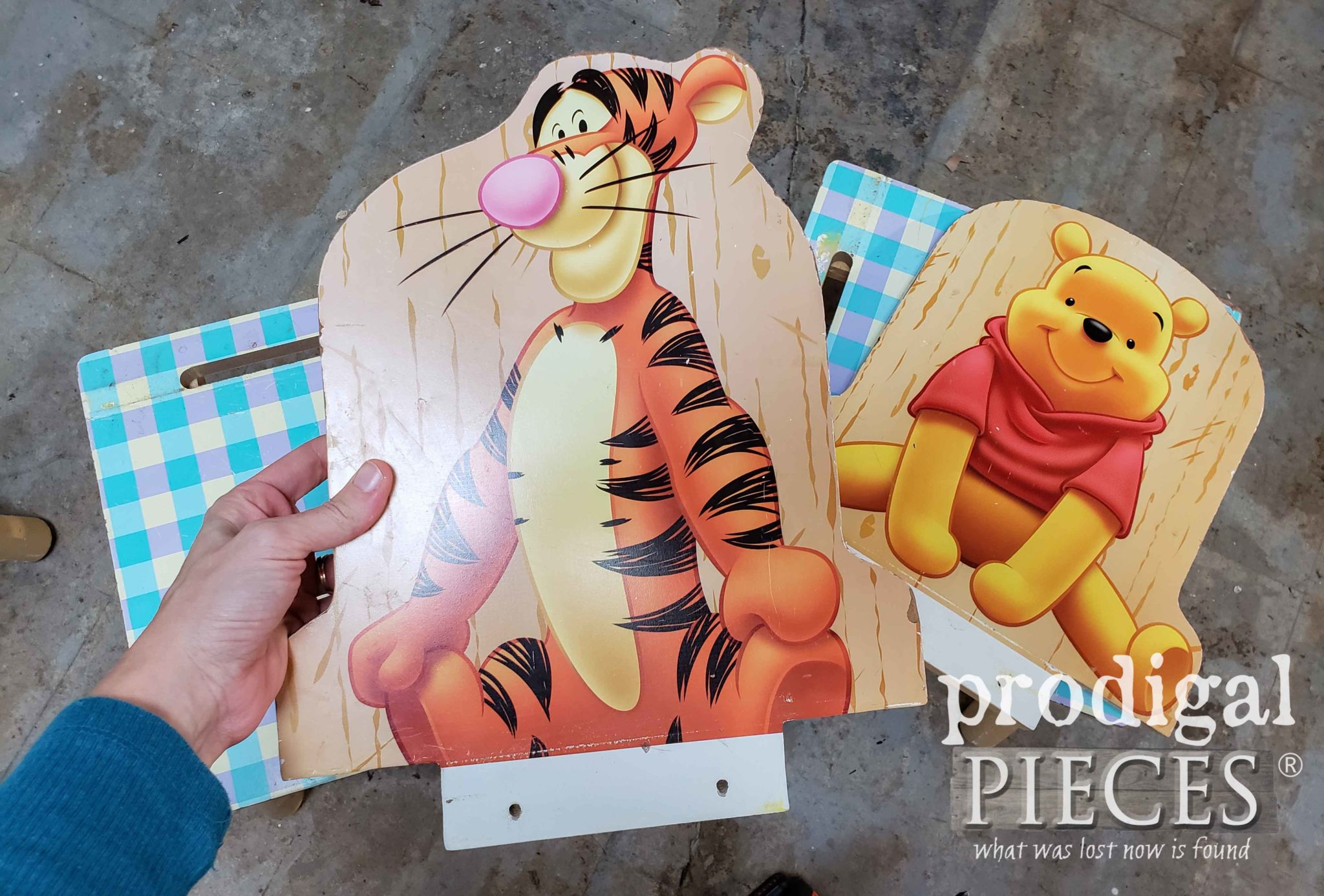 Winne the Pooh Tigger Chair | prodigalpieces.com