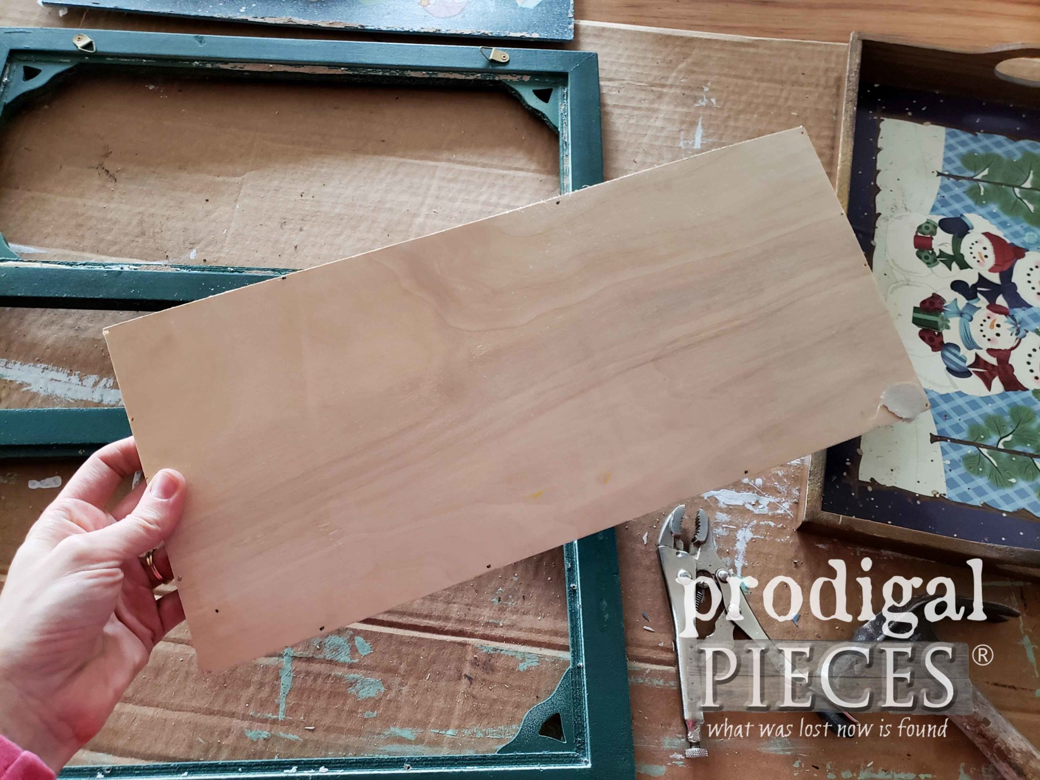 Wooden Art Backing | prodigalpieces.com