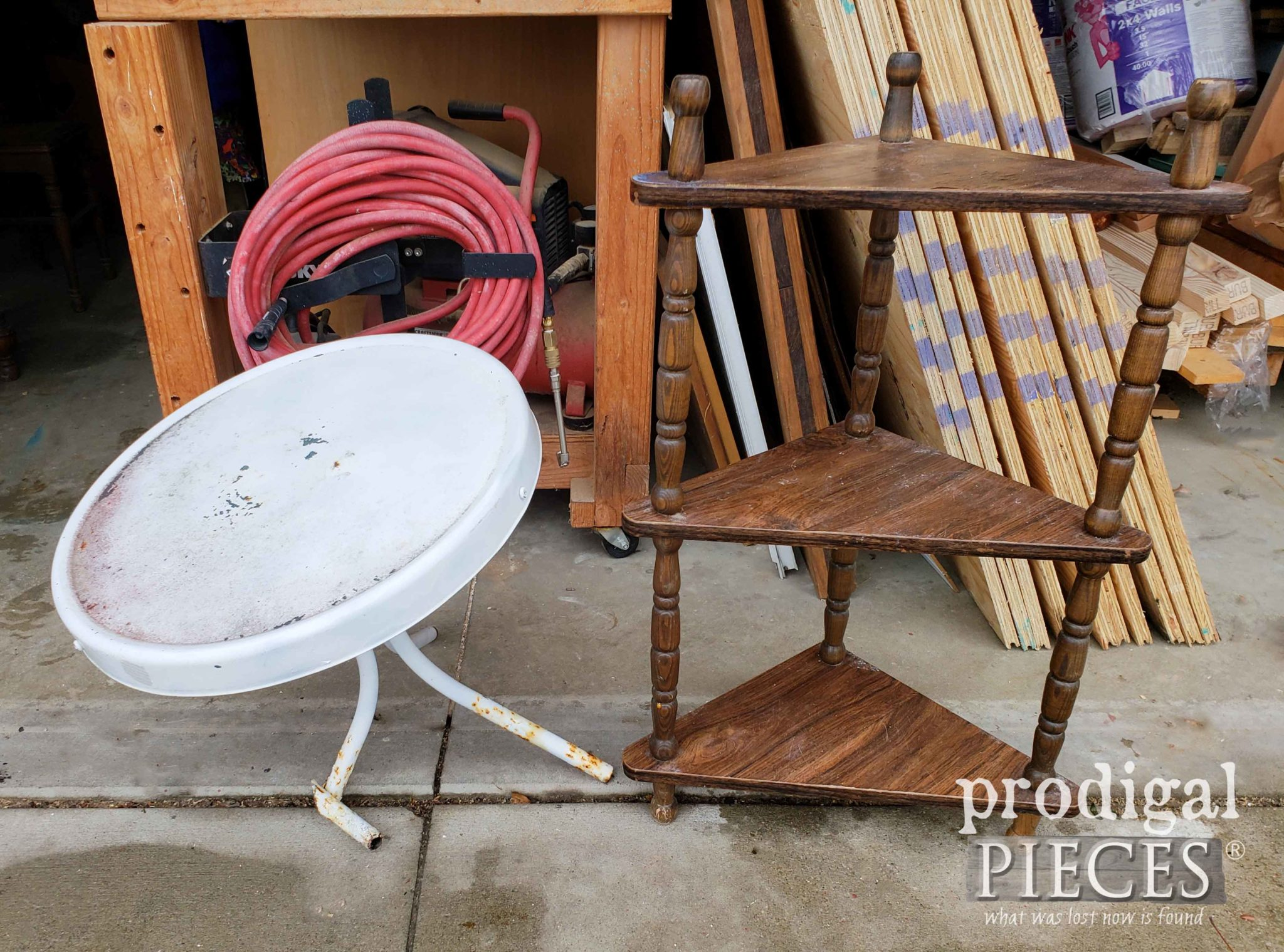 Two Tables Found in the Trash | prodigalpieces.com