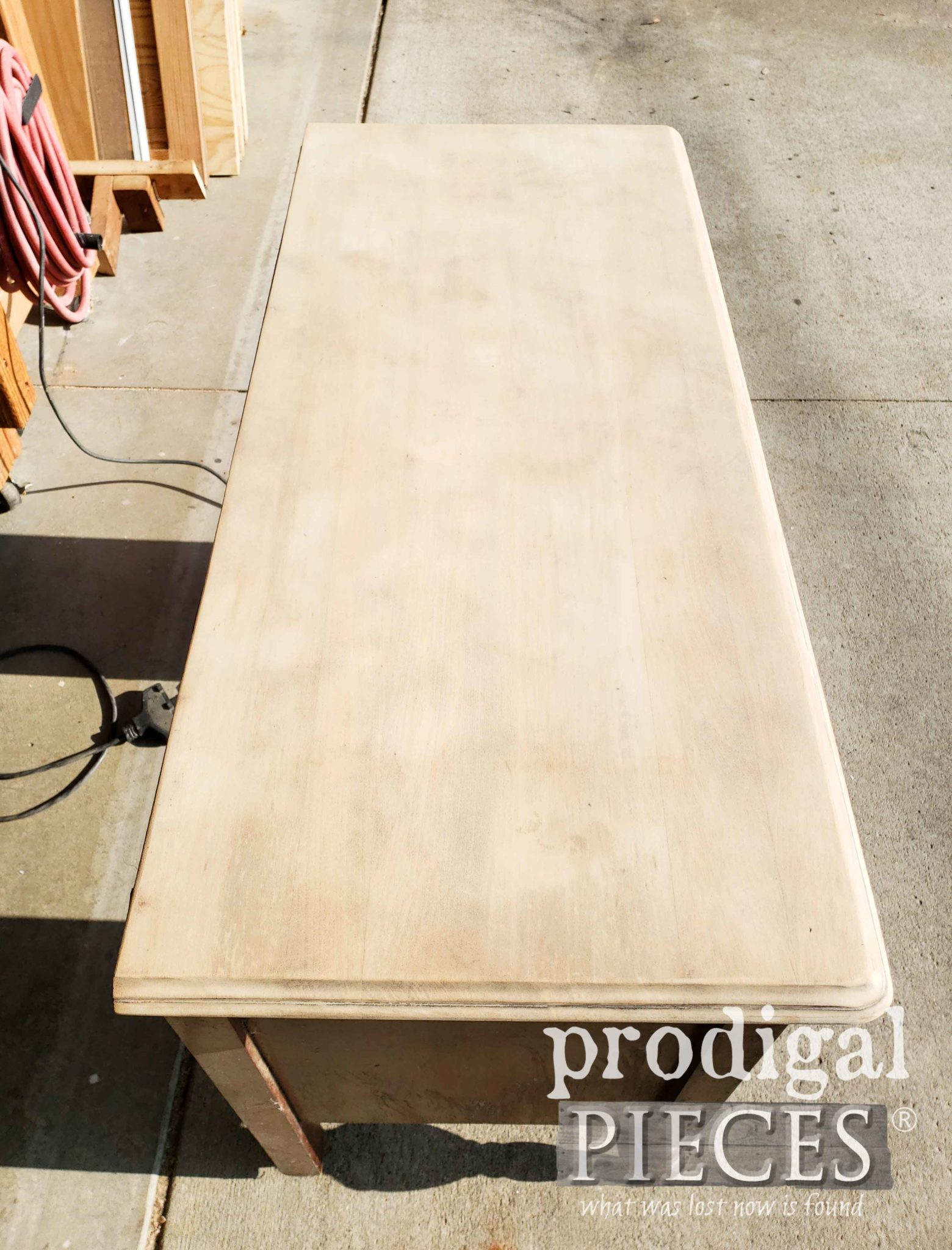 Sanded Dressing Table Top | prodigalpieces.com