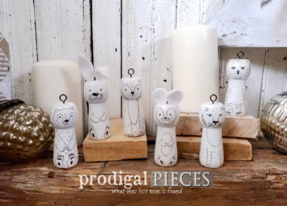 Featured Upcycled Christmas Tree with Holiday Accents too! | by Prodigal Pieces | prodigalpieces.com