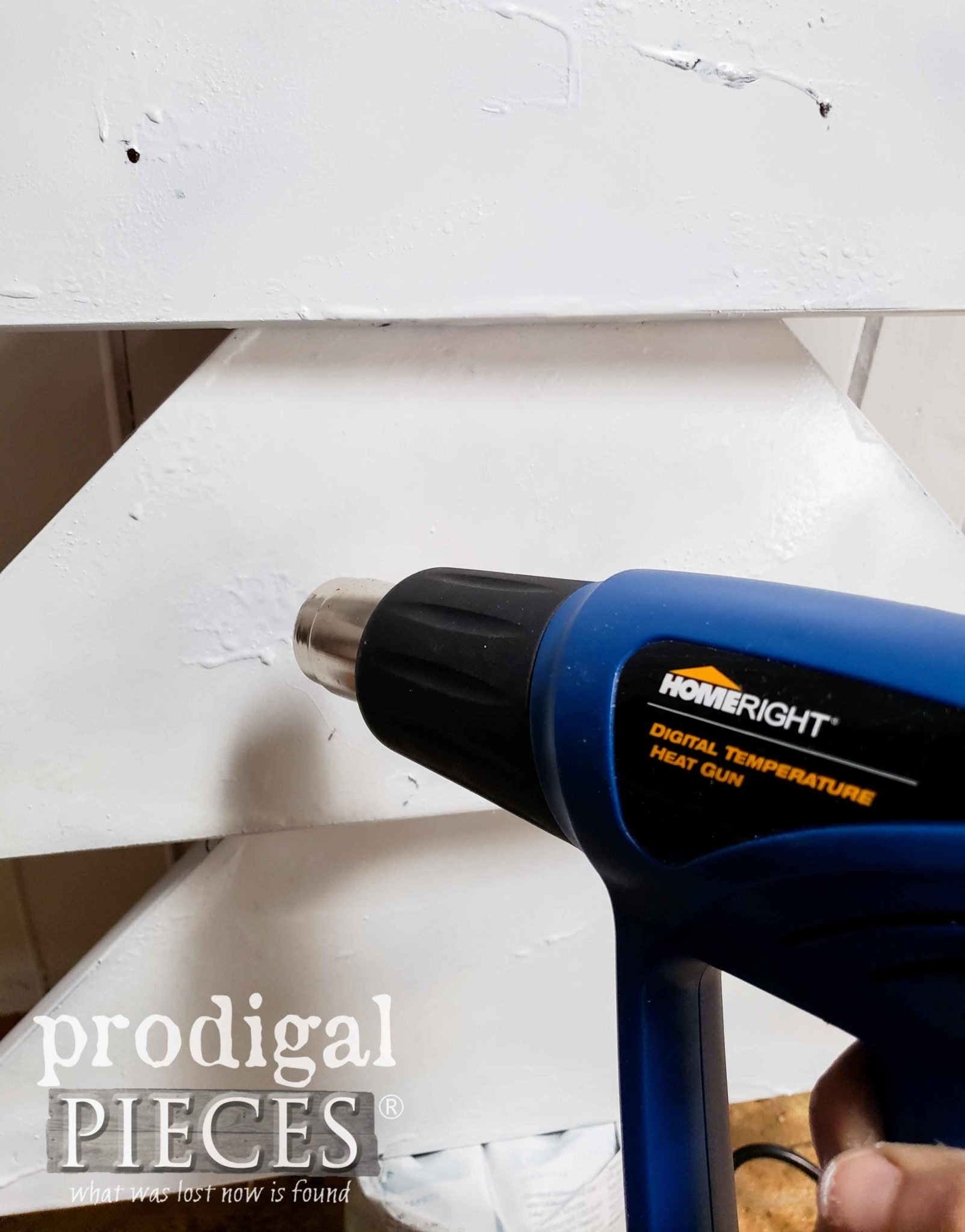 HomeRight Heat Gun for Crackle Paint Effect | prodigalpieces.com