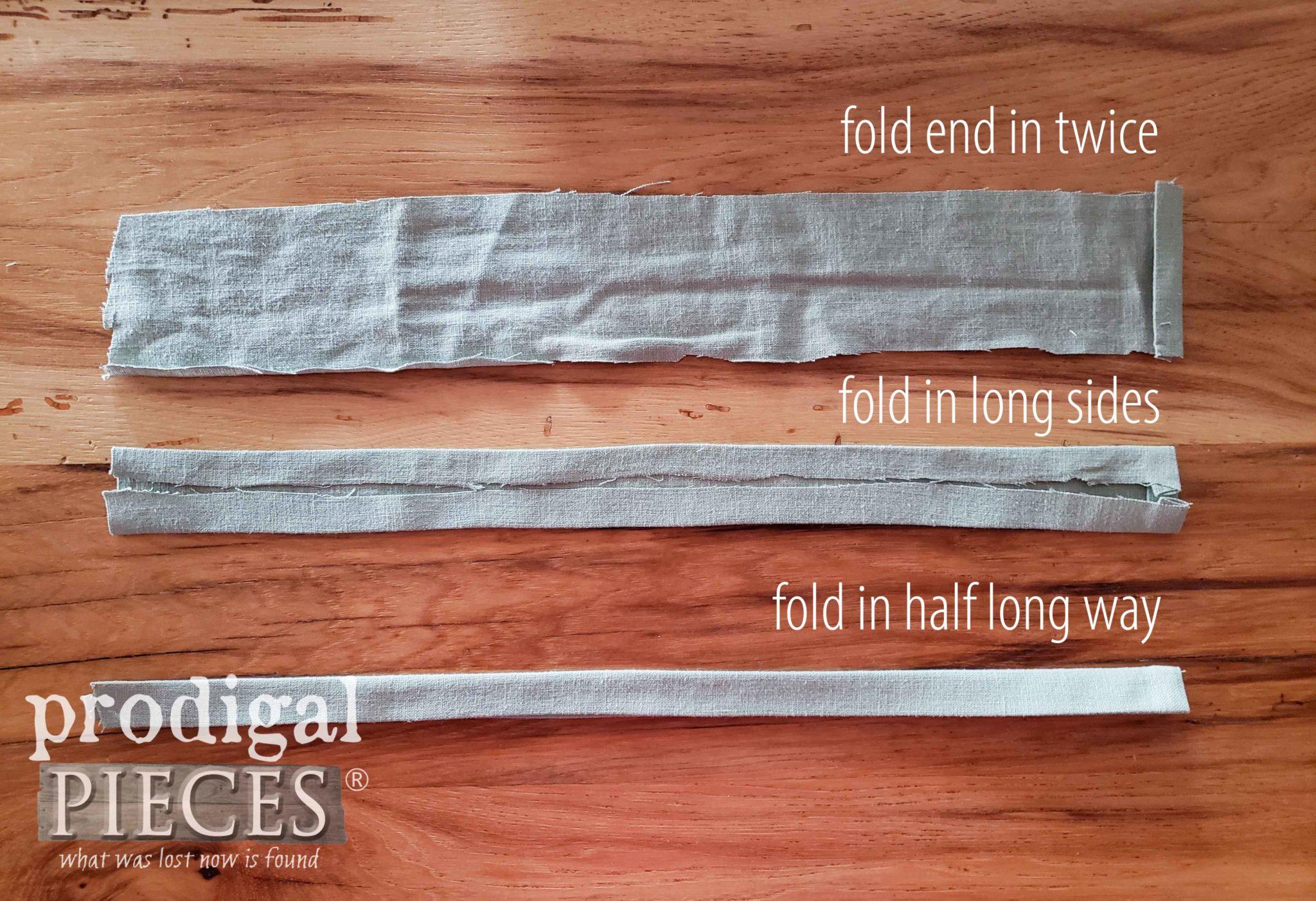 How to Make a Pillow Tie by Prodigal Pieces   prodigalpieces.com