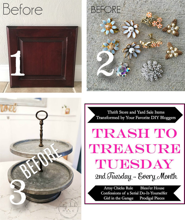Trash to Treasure Tuesday December 2018 | prodigalpieces.com