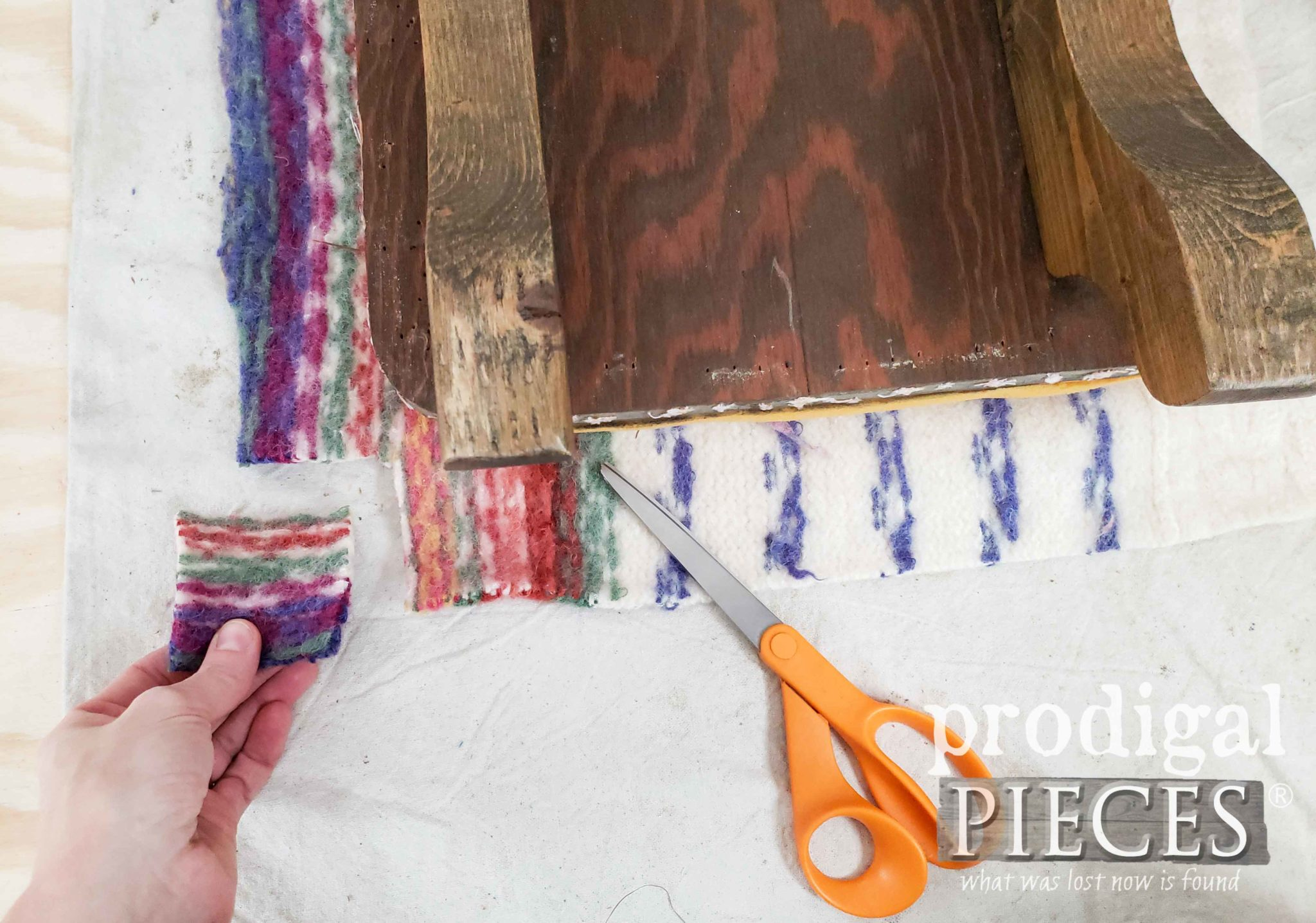 How to Create Boxed Corners in Upholstery by Prodigal Pieces | prodigalpieces.com