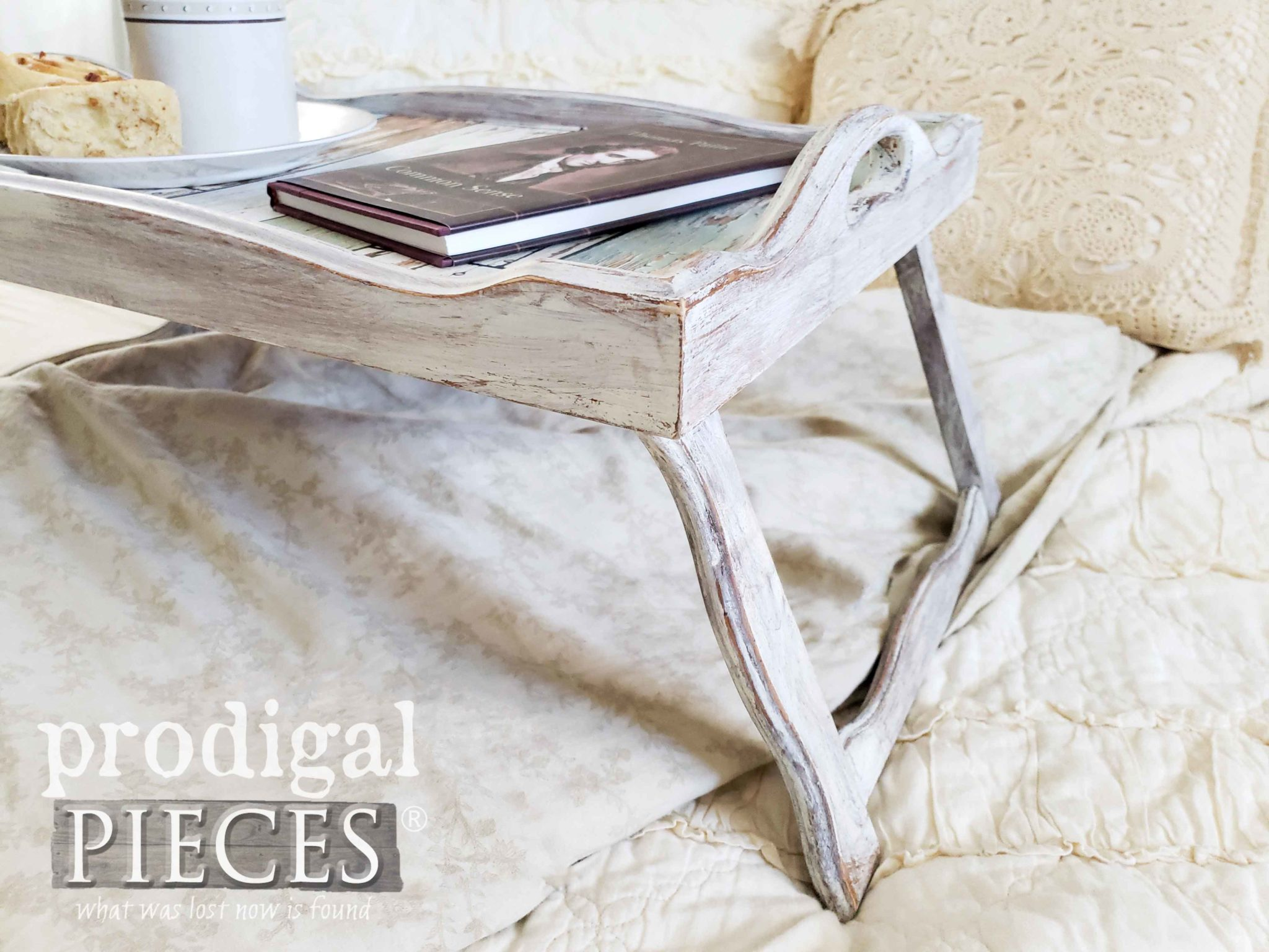 Distressed Dry Brushed Paint DIY by Larissa of Prodigal Pieces | prodigalpieces.com #prodigalpieces #diy #farmhouse #home #homedecor #homedecorideas