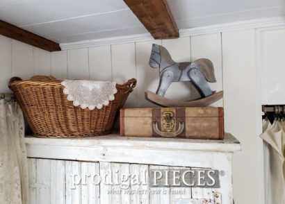 Featured Budget Farmhouse Decor Created from Thrift Store Finds by Larissa of Prodigal Pieces | details at prodigalpieces.com #prodigalpieces