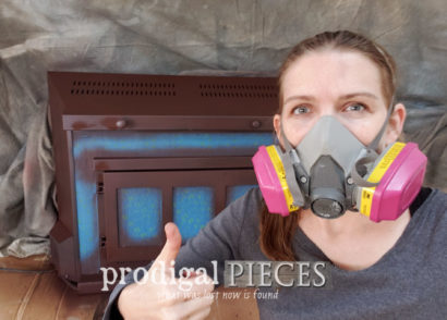 Featured DIY Painted Fireplace Tutorial with Step-by-Step Video by Larissa of Prodigal Pieces | prodigalpieces.com #prodigalpieces