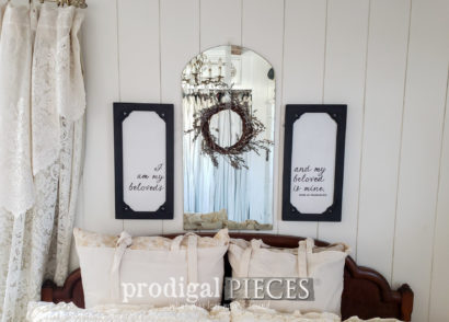 Featured How to Upcycle Old Christmas Decor for your Home | Video tutorial by Larissa of Prodigal Pieces | prodigalpieces.com