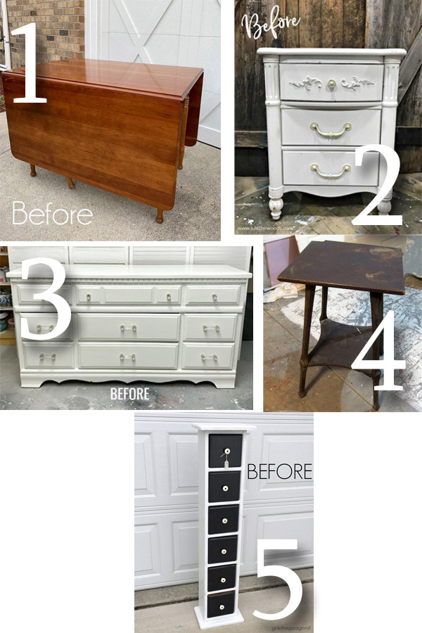 Furniture Fixer Uppers January 2019 | prodigalpieces.com