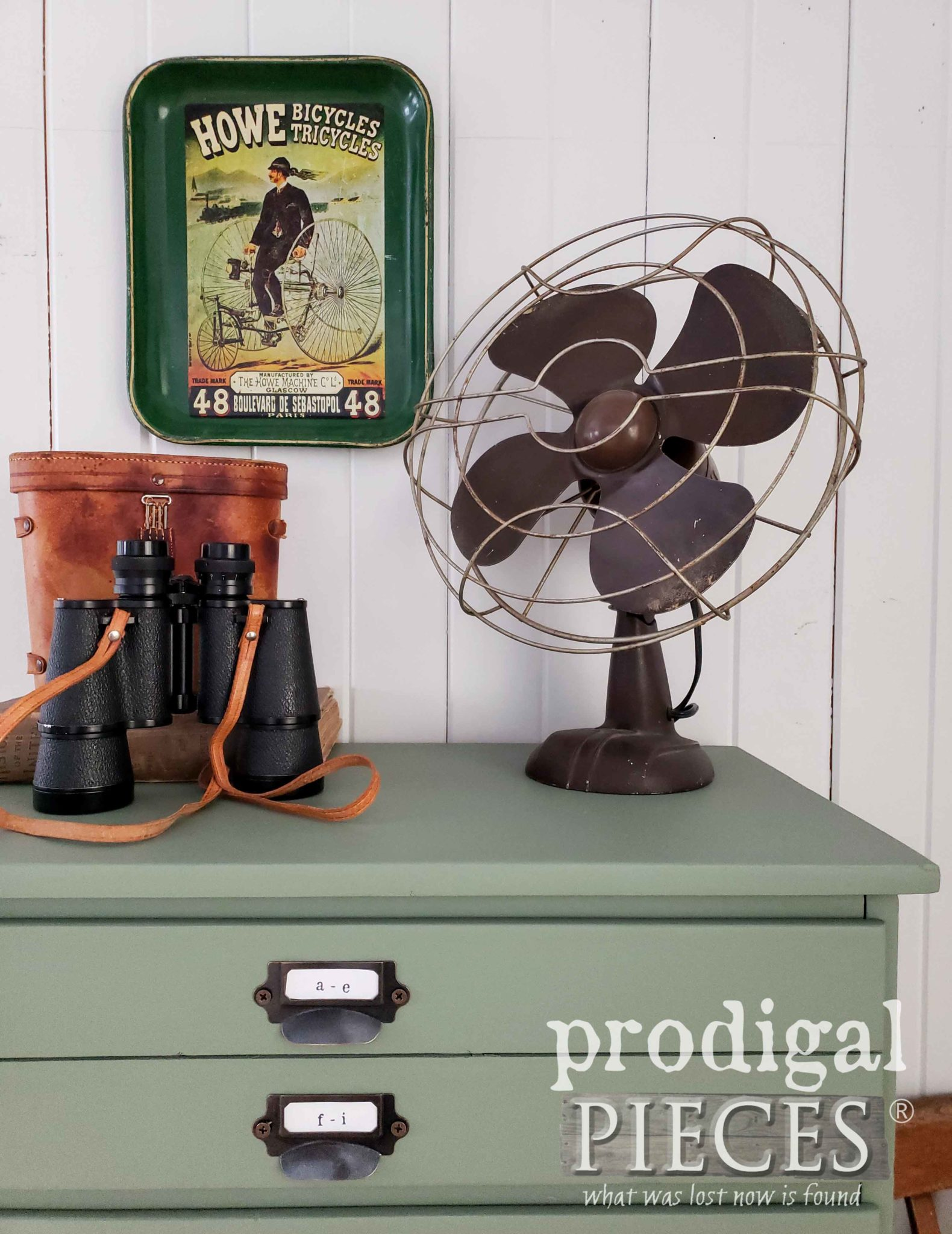 DIY Faux Map Cabinet by Larissa of Prodigal Pieces | prodigalpieces.com #prodigalpieces #diy #home #furniture #homedecor #farmhouse #homedecorideas