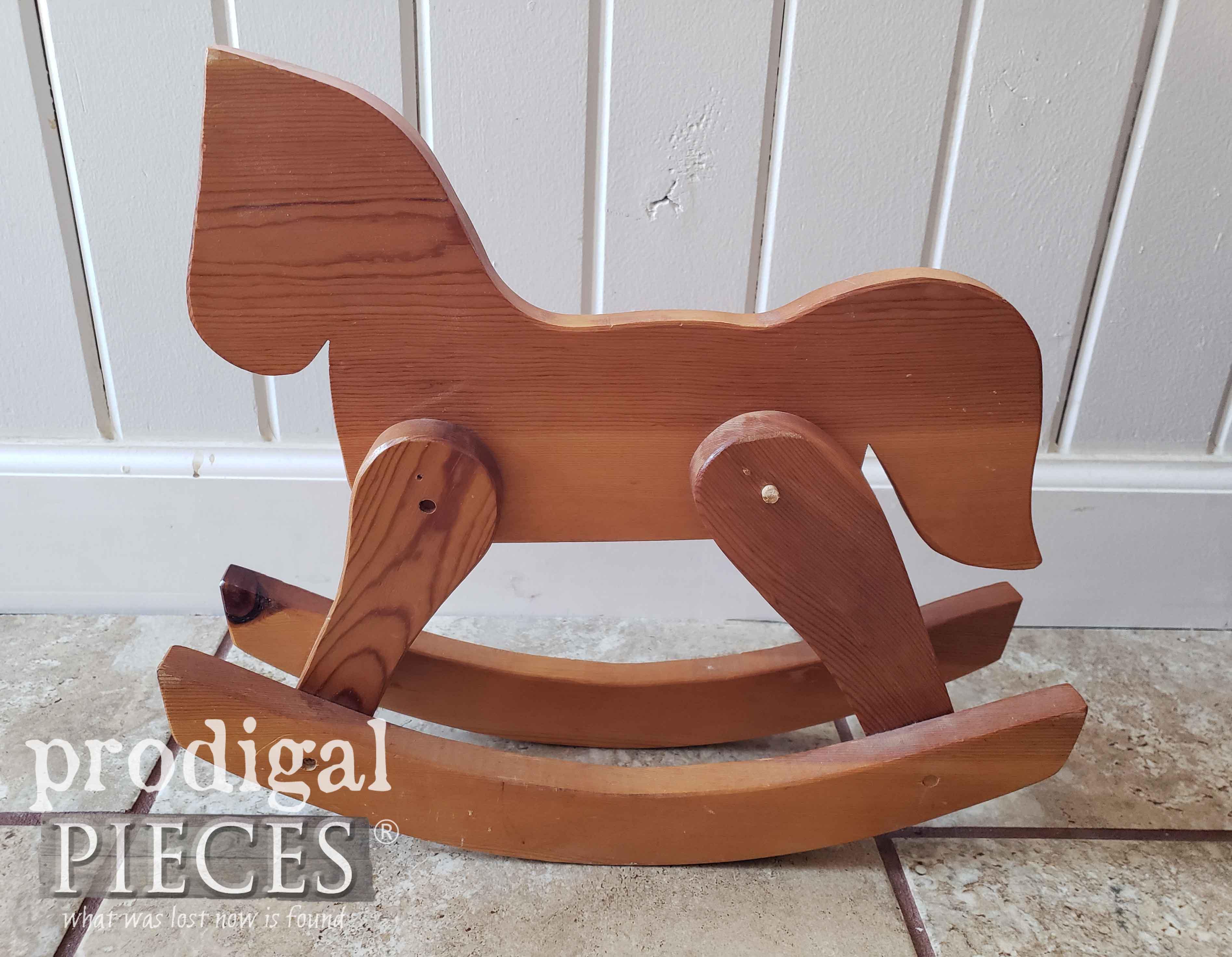 Handmade Wooden Hobby Horse | prodigalpieces.com