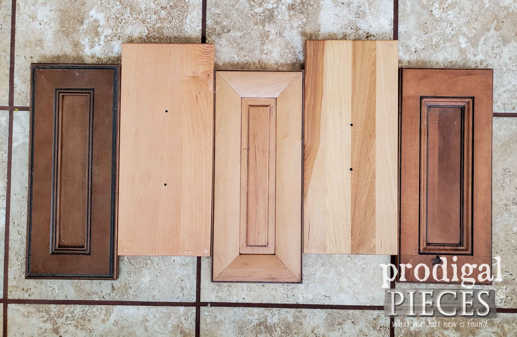 Drawer Fronts in Rough Layout | prodigalpieces.com