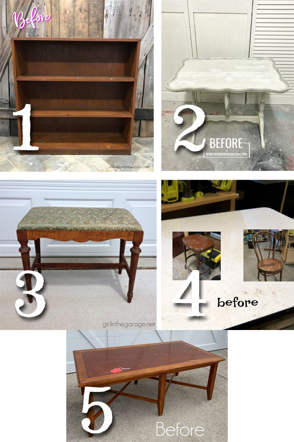 Furniture Fixer Uppers February 2019 | prodigalpieces.com