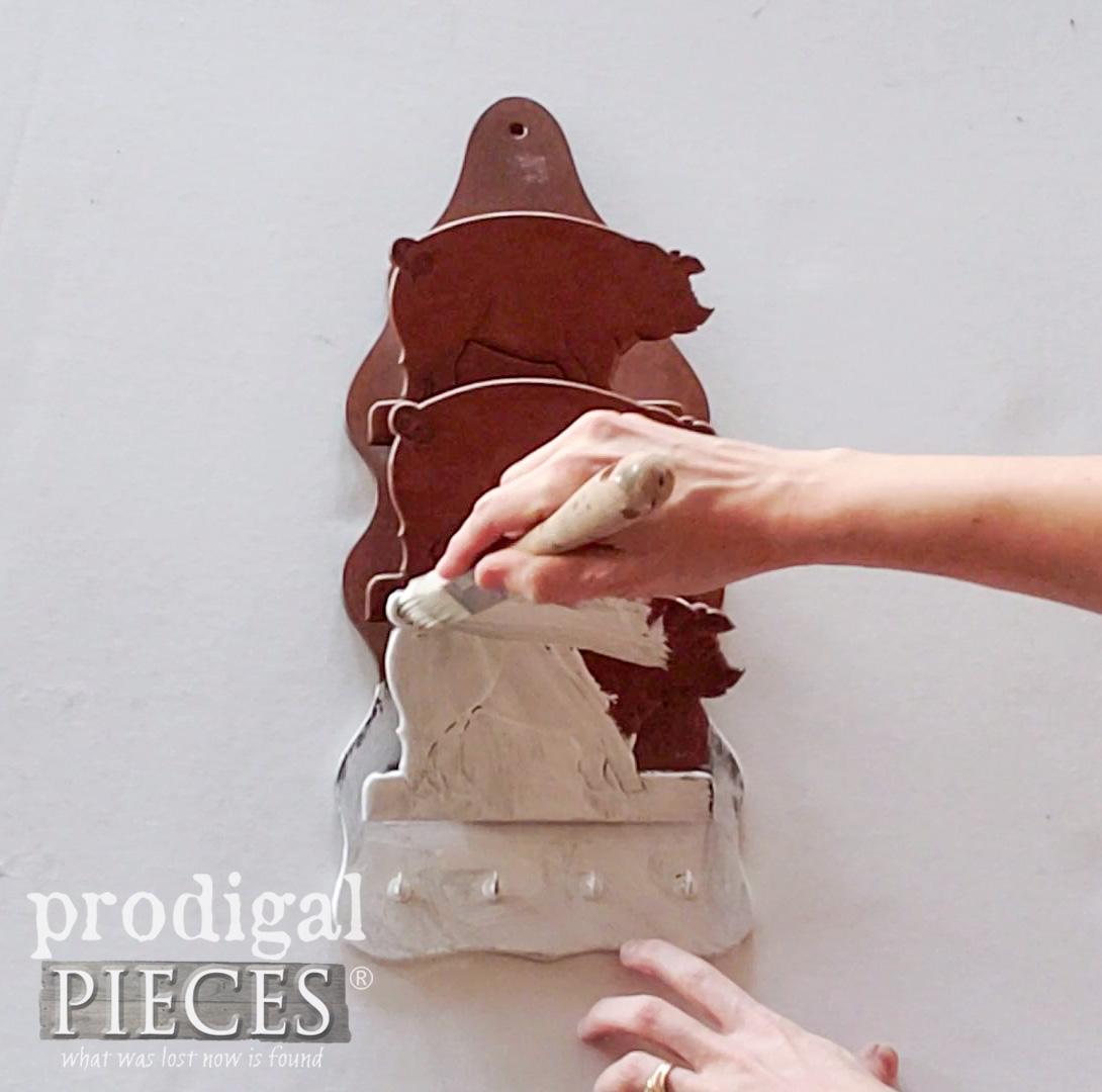 Painting Vintage Letter Holder | prodigalpieces.com