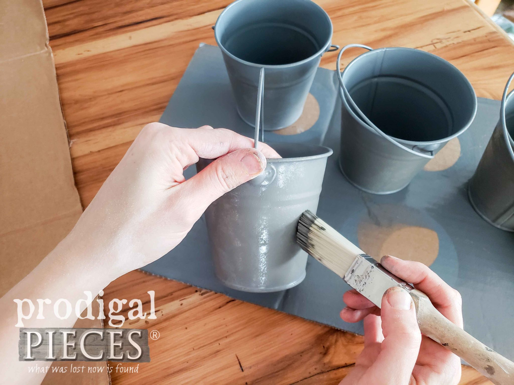 Creating Aged Zinc Effect by Prodigal Pieces | prodigalpieces.com