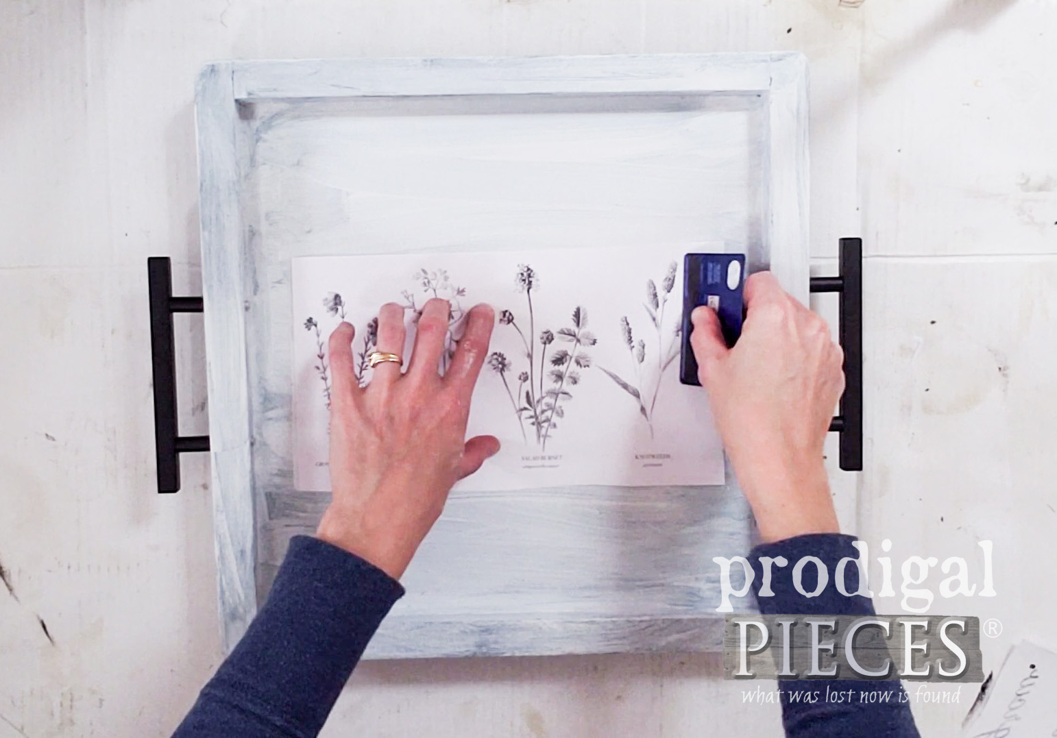 Wax Paper Image Transfer Tutorial by Larissa of Prodigal Pieces | prodigalpieces.com
