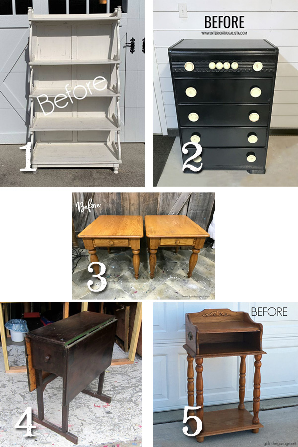 Furniture Fixer Uppers March 2019 | prodigalpieces.com