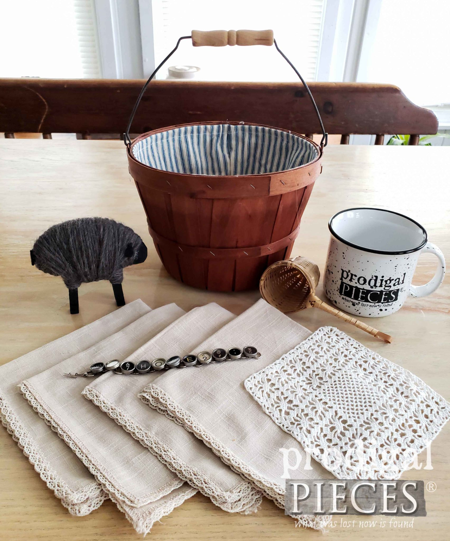 Mother's Day Gift Basket Giveaway from Larissa of Prodigal Pieces | prodigalpieces.com #prodigalpieces #mothersday #giveaway #farmhouse #home #homedecor