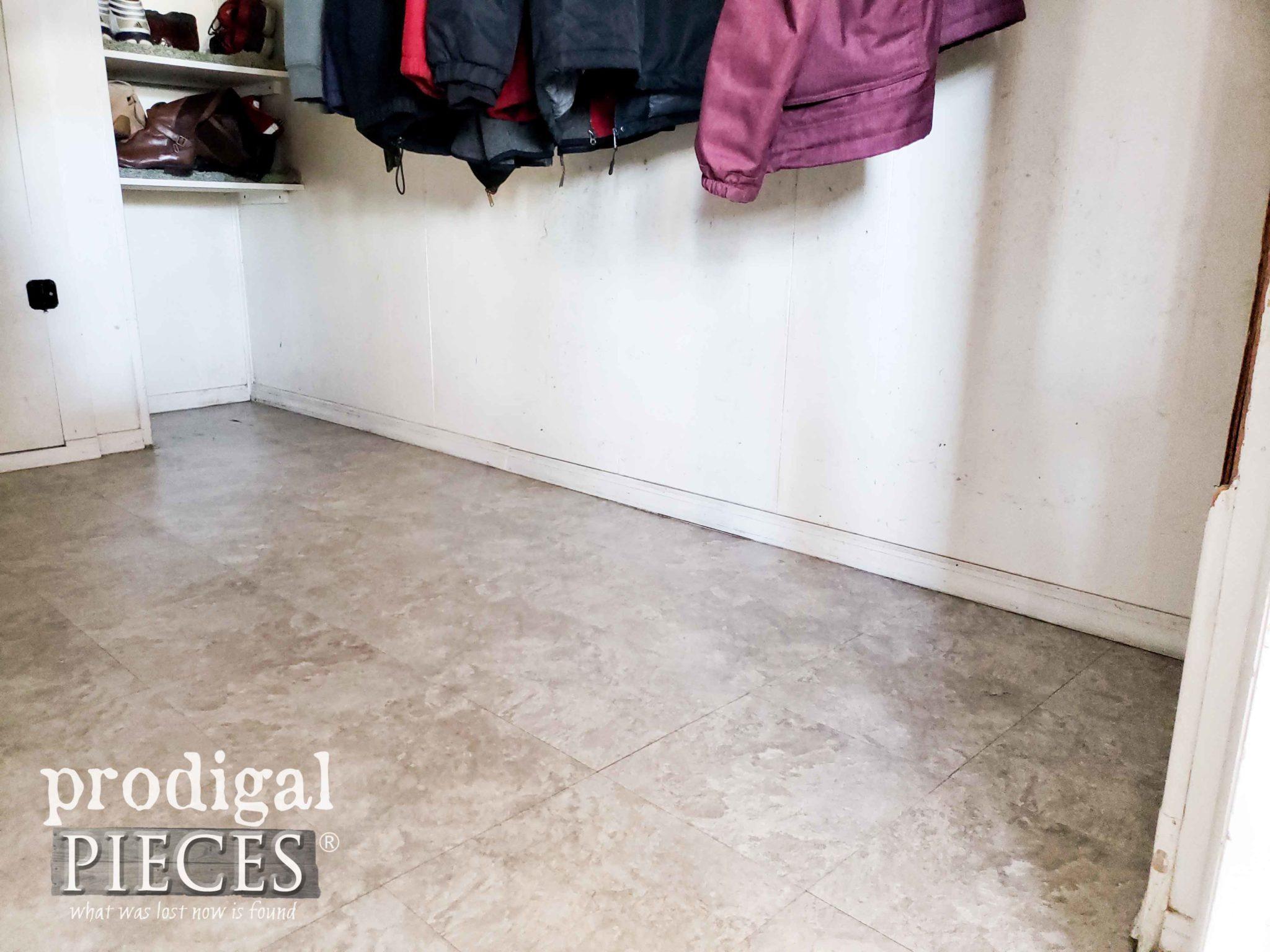 DIY Shoe Storage Before by Prodigal Pieces | prodigalpieces.com