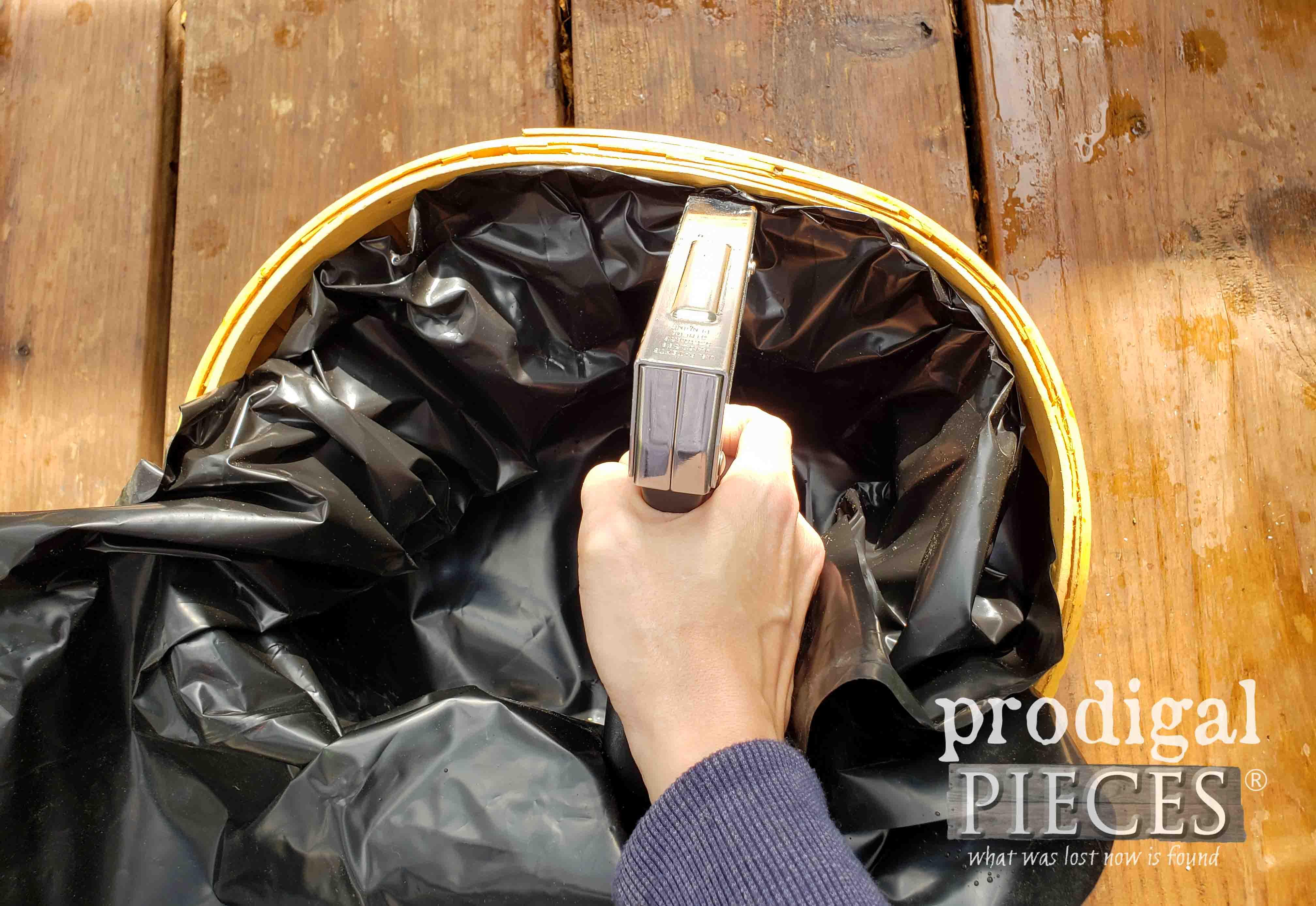 Stapling Basket Liner | prodigalpieces.com