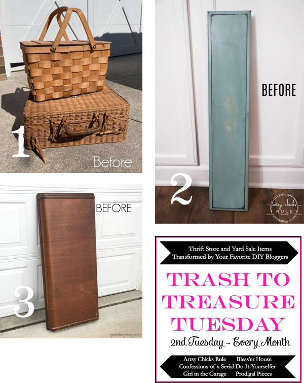 Trash to Treasure April 2019 | prodigalpieces.com