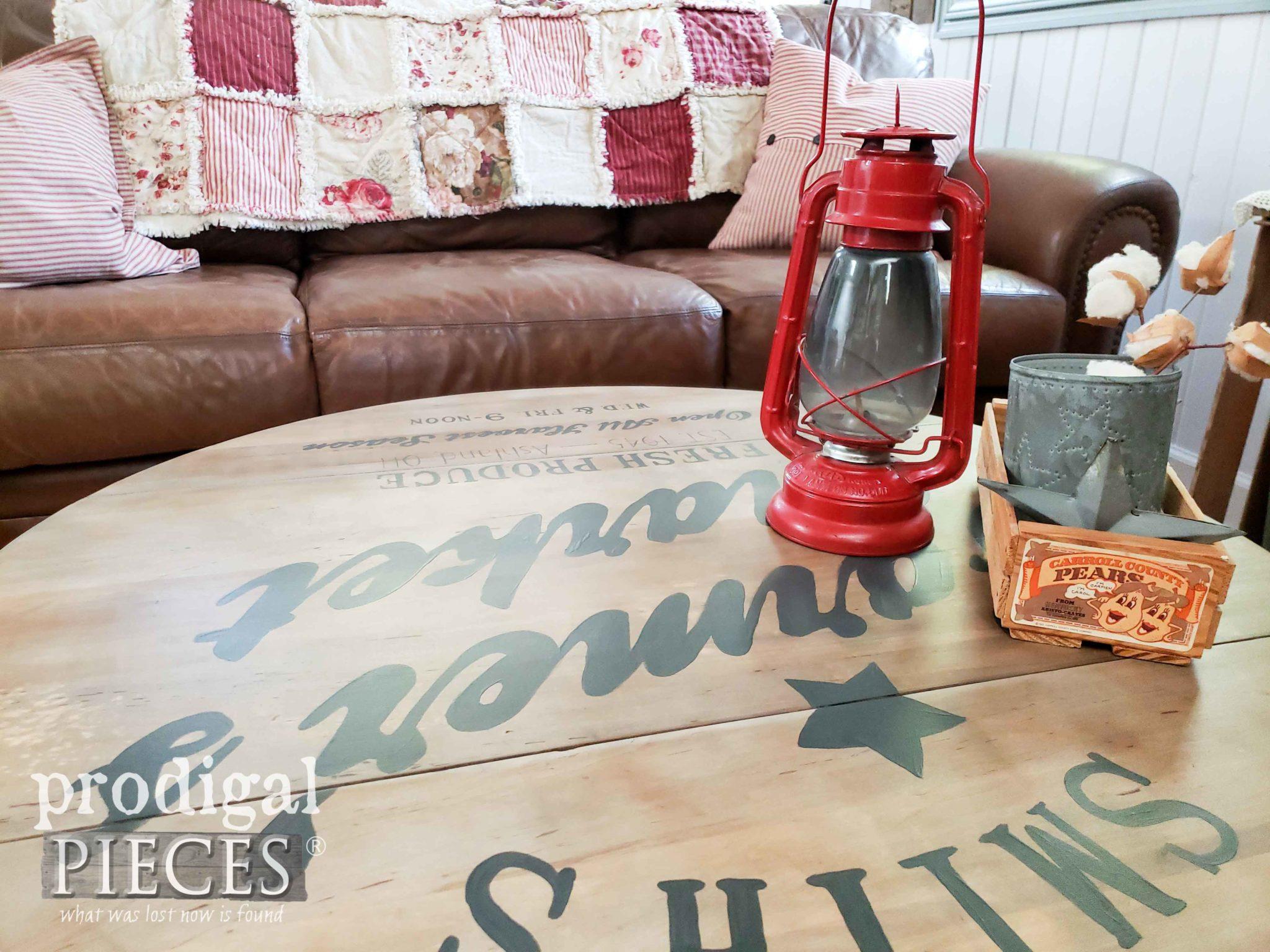 Cozy Farmhouse Living Room with DIY Decor by Larissa of Prodigal Pieces | prodigalpieces.com #prodigalpieces #diy #home #homedecor #furniture