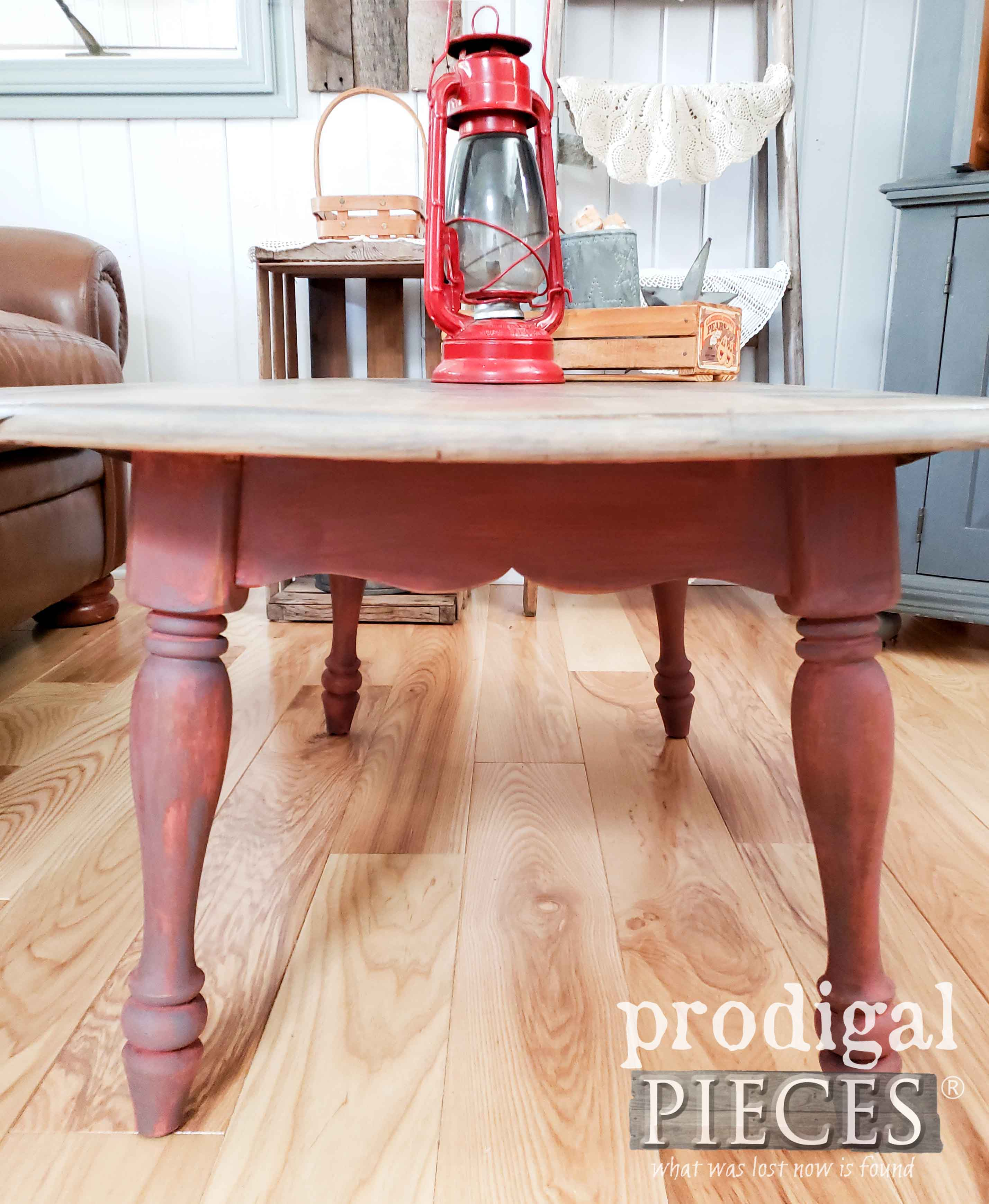 Milk-Painted Farmhouse Coffee Table by Larissa of Prodigal Pieces | prodigalpieces.com #prodigalpieces #home #furniture #farmhouse #diy #home #homedecor