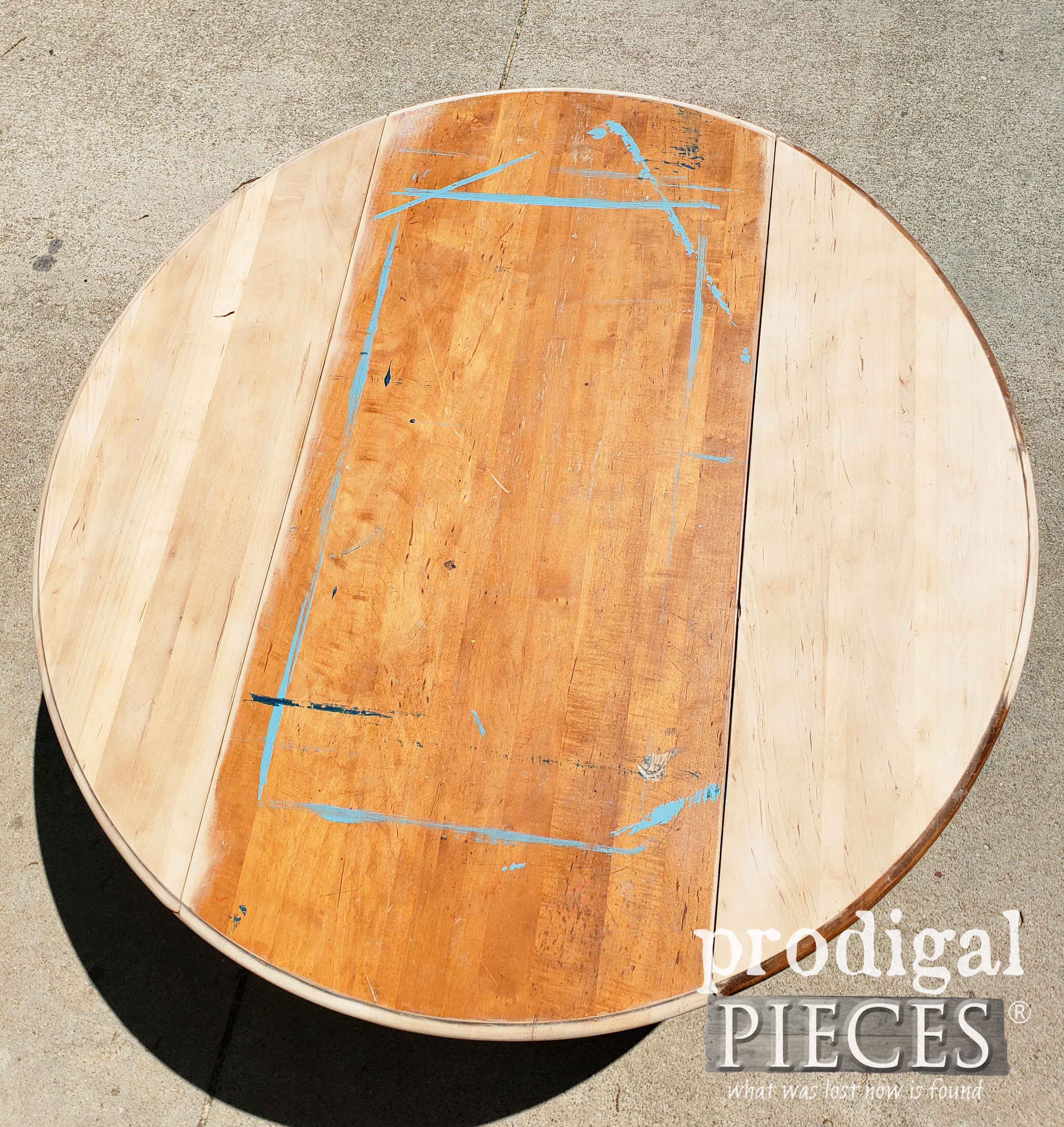Partially Sanded Coffee Table Top | prodigalpieces.com