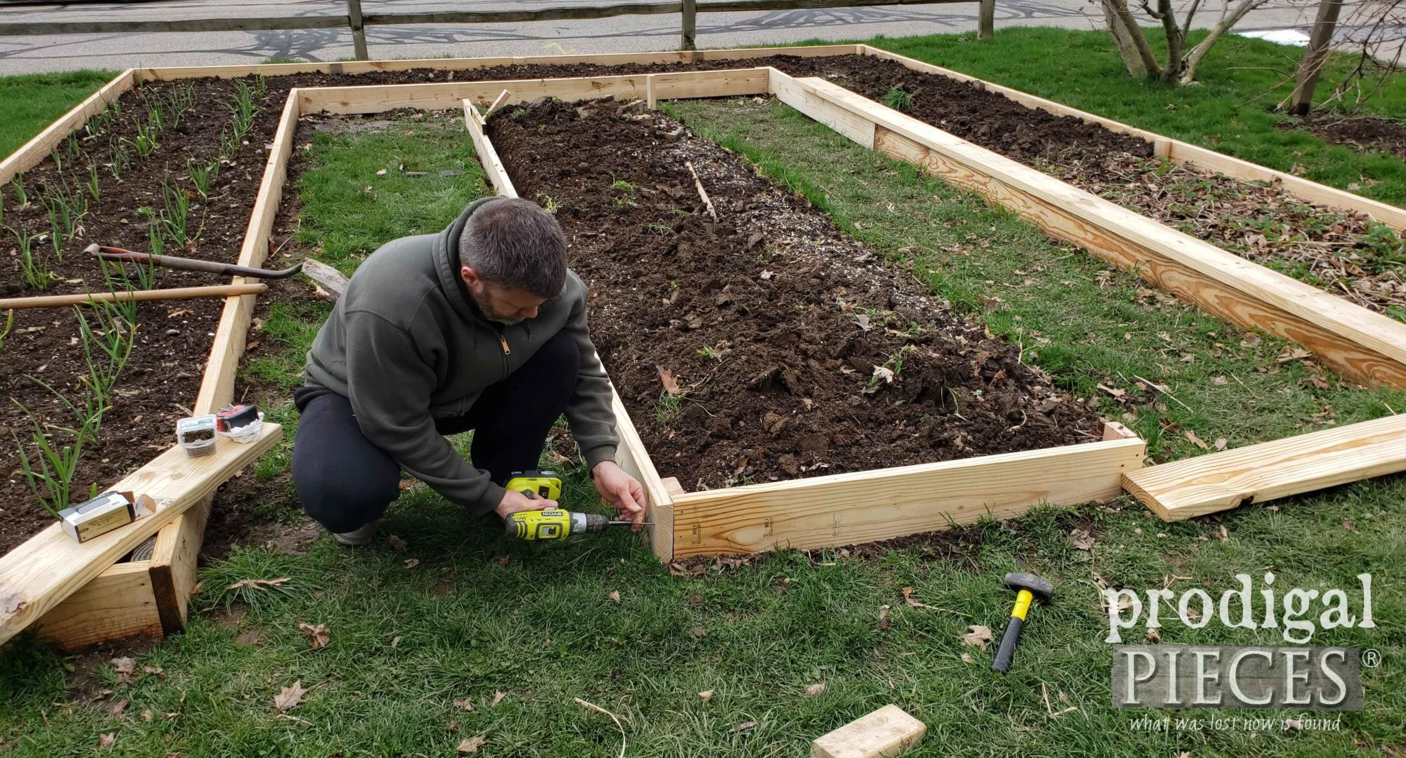 How to Build a Raised Garden Bed in City or Country by Prodigal Pieces | prodigalpieces.com #prodigalpieces #diy #home #garden